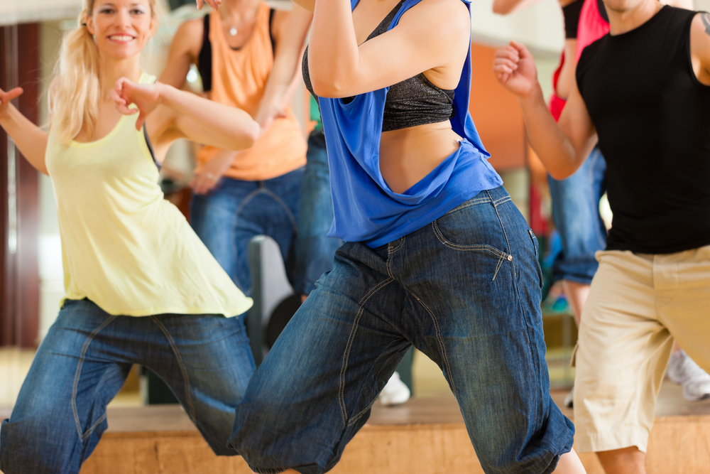 a dance class in Dallas
